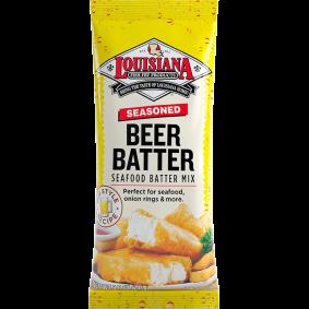 Louisiana Seasoned Beer Batter seafood batter Mix