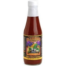 iguana lighting hot n spicy ketchup 12oz