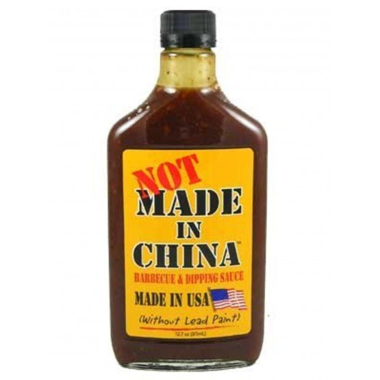 Pappy's NOT made in China Barbeque Sauce
