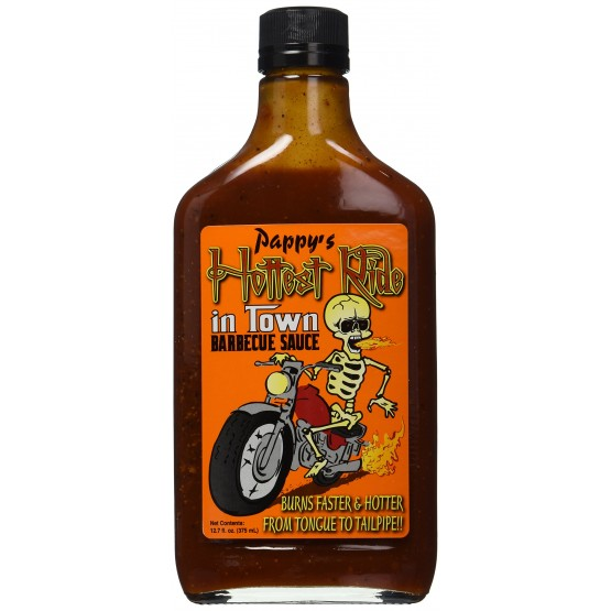 Pappy's Hottest Ride in Town Barbeque Sauce