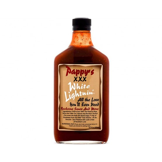 Pappy's XXX White Lighting Barbeque Sauce