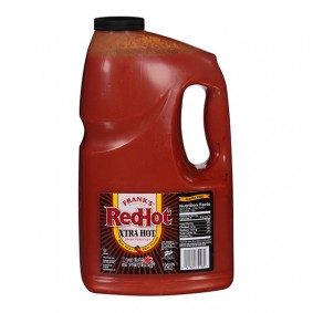 Franks Red Hot XTRA Hot Sauce - GALLON