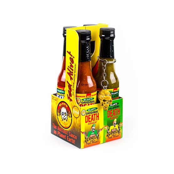 Blair's Death Sauce Mini 4-pack