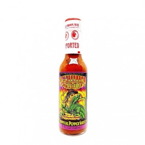 Iguana Tropic Thunder - Red Jalapeno and Habanero Tropical Pepper Sauce