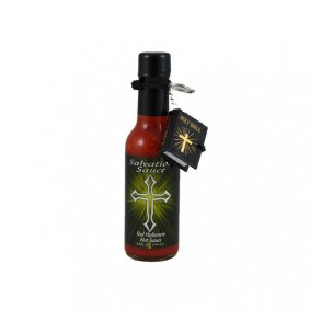 Danny Cash's Salvation Sauce w/mini bible- Red Habanero
