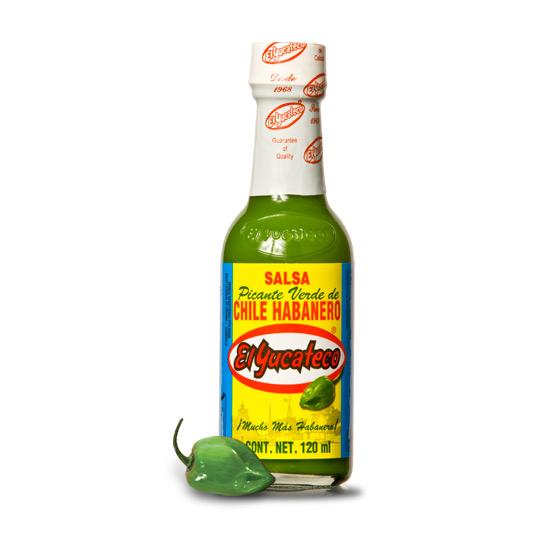 El Yucateco's Green Habanero Hot Sauce