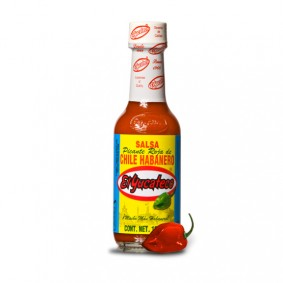 El Yucateco's Red Habanero Hot Sauce