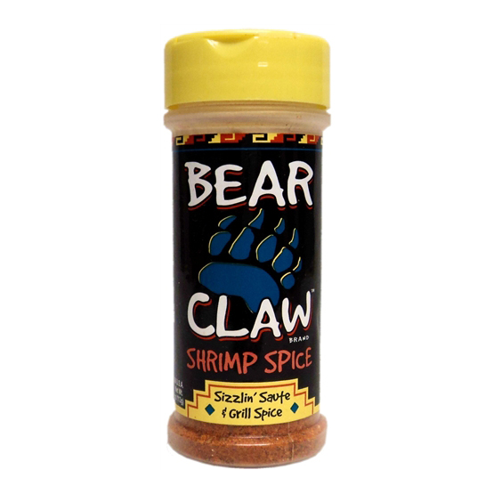 Bear Claw Shrimp Spice Shaker